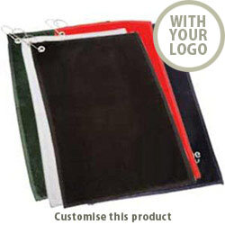 Cambridge Velour Golf Towel 30370105 - Customise with your brand, logo or promo text