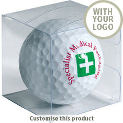 Golf Ball Gift Box 30815035 - Customise with your brand, logo or promo text