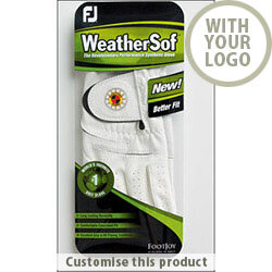 Footjoy Weather Sof Golf Glove 30815102 - Customise with your brand, logo or promo text