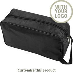 Shoe / Boot Bag in Black 40613163 - Customise with your brand, logo or promo text