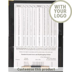 PU Score Card Holder 40733434 - Customise with your brand, logo or promo text