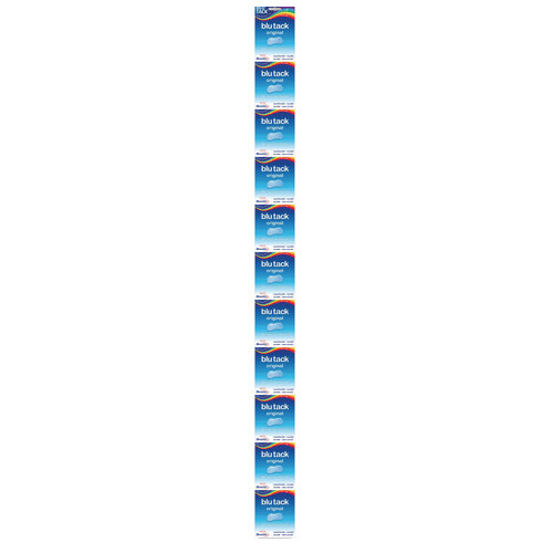 Bostick Blu Tack Impulse Clip Strip Pack of 12 30813273