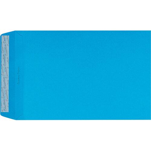 C4 Pocket Envelope Peel and Seal 120gsm Cocktail Blue Pack of 250 409P