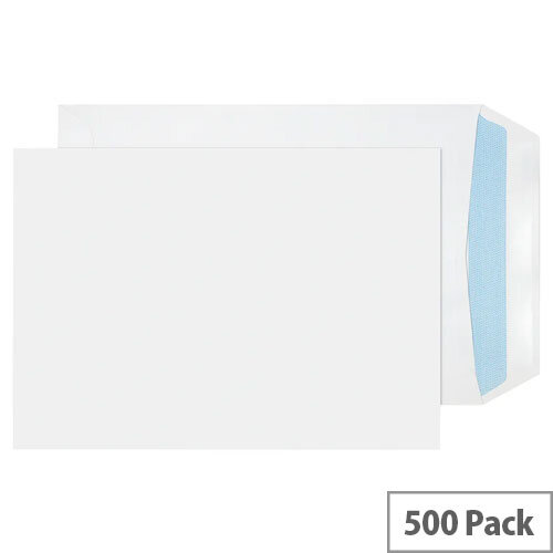 Evolve C5 Recycled Envelopes White Self-Seal 100gsm Pack of 500 RD7893