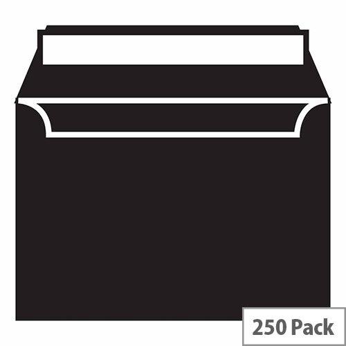 Blake Black C6 Wallet Envelopes (Pack of 250)