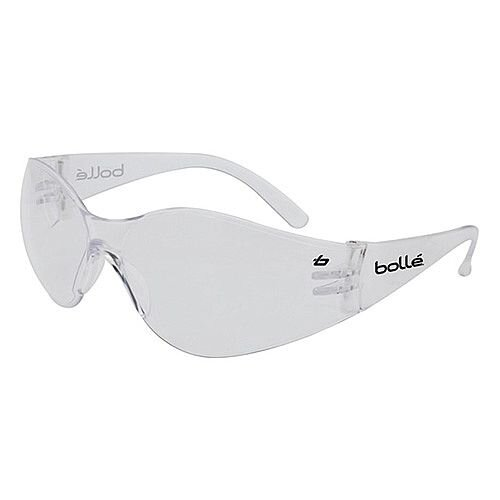 Bolle Bandido Clear Safety Glasses with Anti-scratch Coating