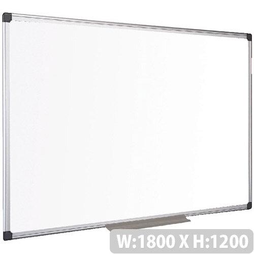Bi-Office Drywipe Board Magnetic 1800x1200mm Aluminum Frame MA2707170