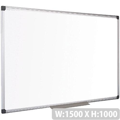 Bi-Office Whiteboard Aluminium Frame 1500 x 1000mm MA1512170