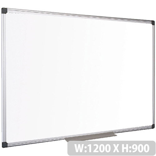 Bi-Office Drywipe Board Magnetic 1200x900mm Aluminum Frame MA0507170