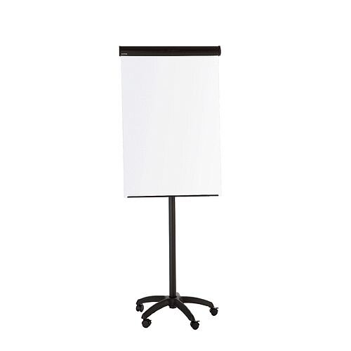 Bi-Office Frameless Mobile Magnetic Flipchart Easel 900x600mm EA6700115