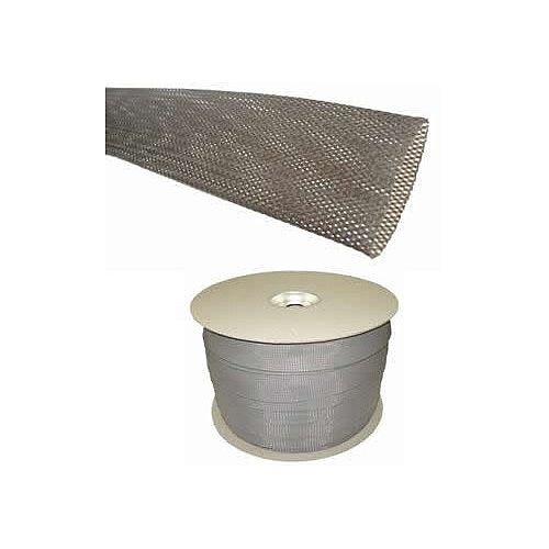Industrial Grey Braided Sleeving for Cables 28-47mm