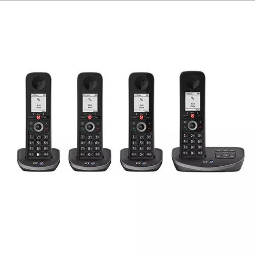 BT Advanced DECT TAM Phone Quad 90641