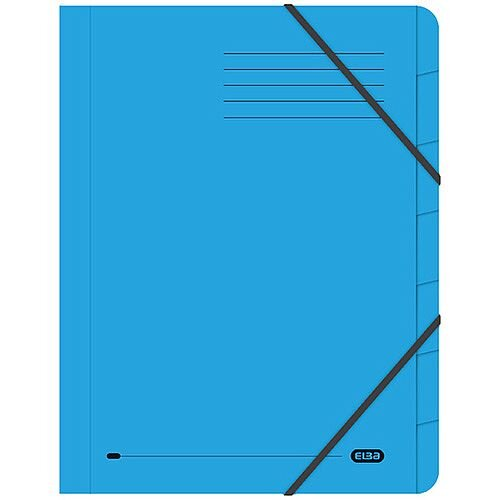 Elba Strongline 7 Part Blue File 100090169 Pack of 5