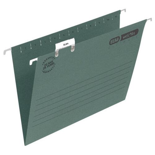 Elba Suspension File Foolscap Green Pack of 50  100331250