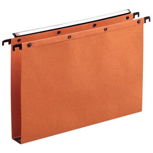 Elba Suspension File Manilla Foolscap Orange Pack of 25 100330314