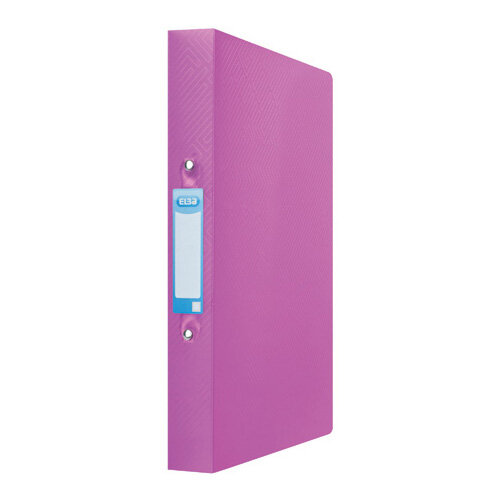 Elba Ring Binder 25mm Capacity A4 Pink 400104457