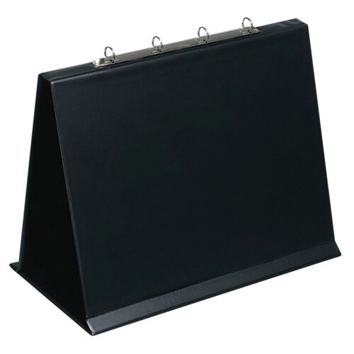 Bantex 4O Ring Binder PVC Oblong A3 Black 100080978