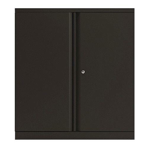 Bisley Black 1016mm 2 Door Cupboard BY74765