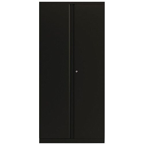 Bisley Black 1968mm 2 Door Cupboard BY74771
