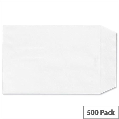 Croxley Script C5 Envelopes 100gsm White Pocket Peal and Seal Pack 500
