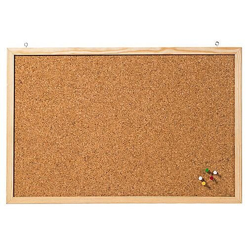 Franken Cork Board Wooden Frame 600 x 400mm CC-KT4060E