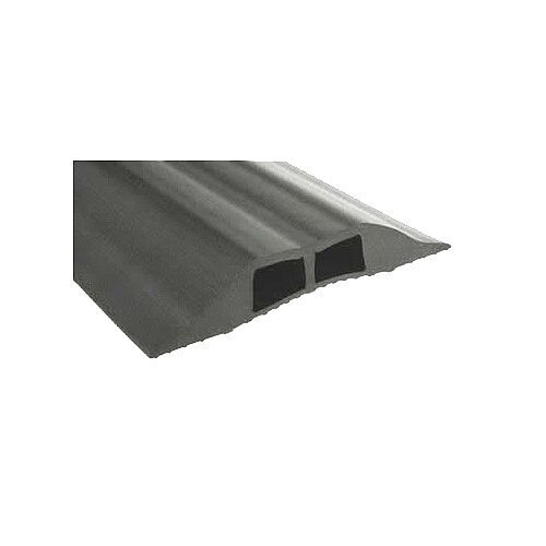 Grey Cable Cover Hole Size 16x10mm