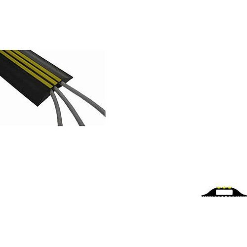 Hazard Striped Floor Cable Cover Yellow/Black