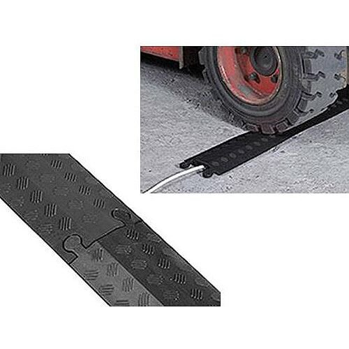 Black Single Channel Cable Cover 765mm