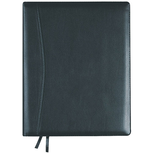 Collins Elite Executive 2021 Diary Day Per Page Black 1100V