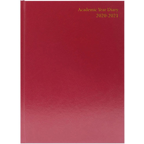 Collins 2021 A5 Desk Diary Week to View Blue 35