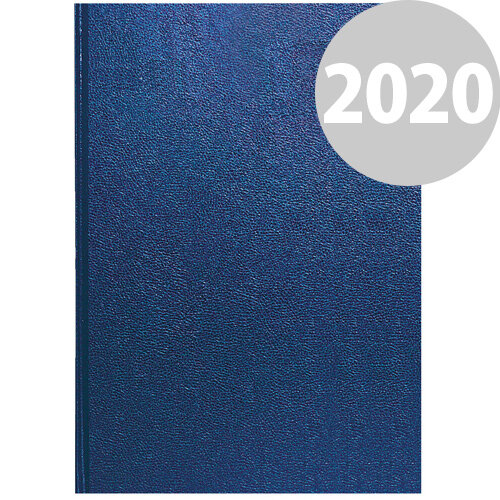 Collins A4 Desk Diary Day Per Page 2020 Blue 44