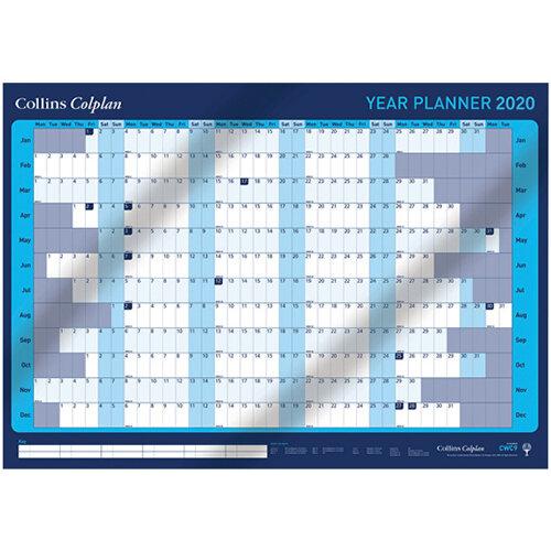 Collins Colplan Year Planner 2020 CWC9