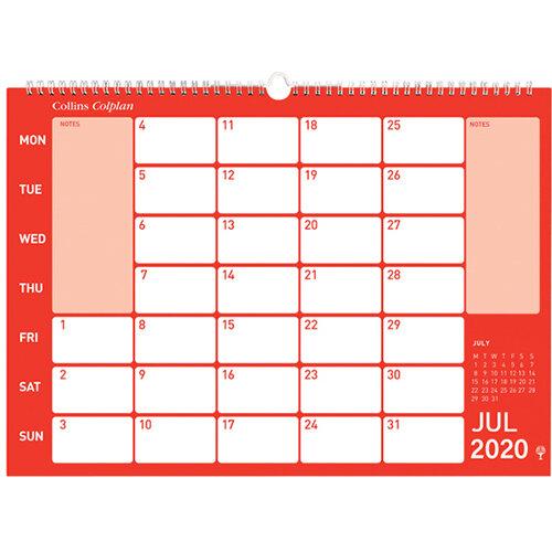 Collins Memo Calendar A3 2020 CMC