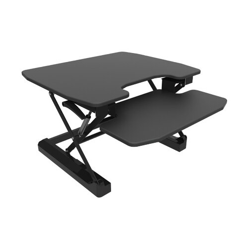 Contour Ergonomics Sit-Standing Desk Black CE04633