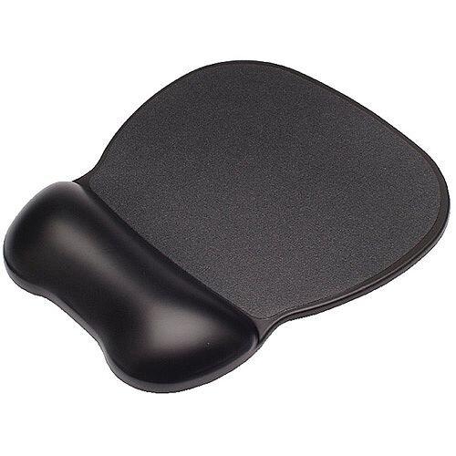Contour Ergonomics Soft Skin Gel Mouse Mat Wrist Rest Black CE77000