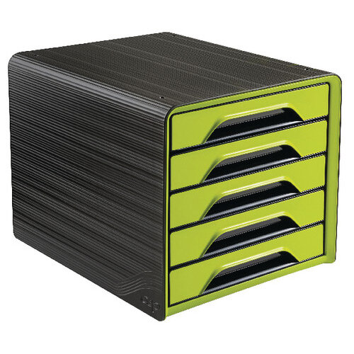 CEP Smoove 5 Drawer Module Black/Green 1071110301