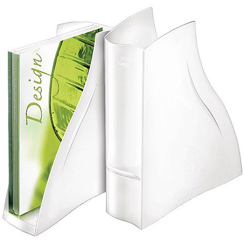 CEP Ellypse Xtra Strong Magazine Rack White