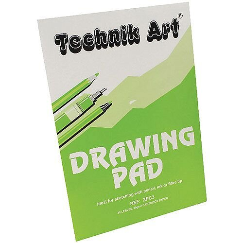 Technik Art Drawing Pad A3 80 Pages XPC3