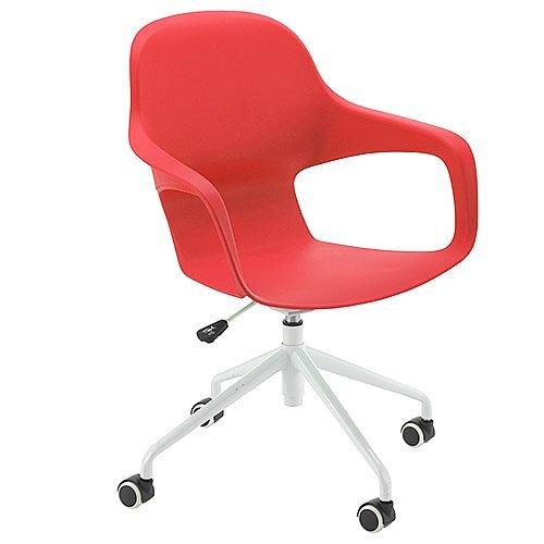 Ariel 2 Modern Design Spider Base Chair Red