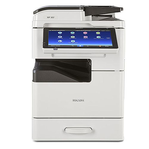 Ricoh MP305+SP/SPF Mono Laser Printer A3, Print Speed 30ppm, 600x600dpi, Input Capacity (Min/Max): 260/760 Sheets, USB and Wi-Fi Connectivity