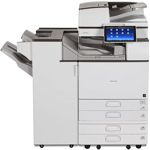 Ricoh MP 3555SP 35ppm A3 Mono Multifunctional Printer - Copy, Print, Scan - Wireless Direct for Mobile Print support, 2x 550 Sheet Paper Trays, USB 2.0, Gigabit Ethernet