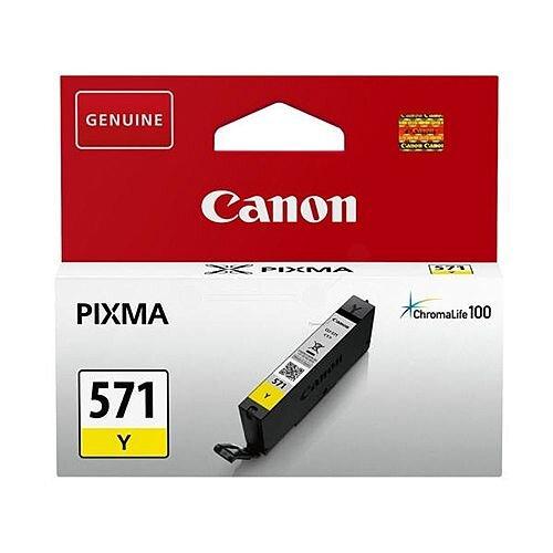 Canon CLI-571 Yellow Ink Cartridge 0388C001