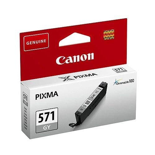 Canon CLI-571 Grey Ink Cartridge 0389C001
