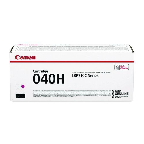 Canon 040H Magenta High Yield Toner Cartridge 0457C001