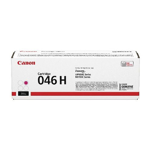 Canon 046 Laser Printer Toner Magenta HY 1252C002