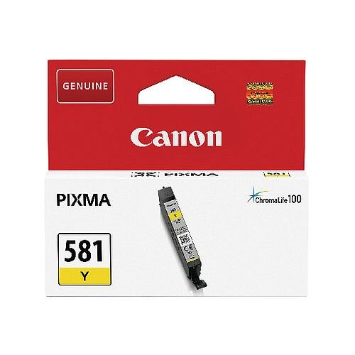 Canon CLI-581 Yelow Ink Cartridge 2105C001