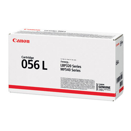 Canon 056L Black Low Yield Laser Toner Cartridge 3006C002