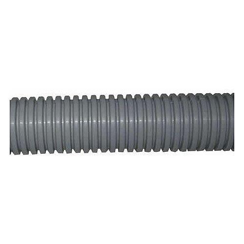 20mm Grey Plastic Flexible Conduit Cable Tidy Tube 100m