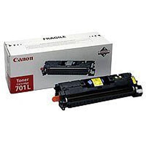 Canon 701L Yellow Standard Yield Toner Cartridge CRG701YL 9288A003