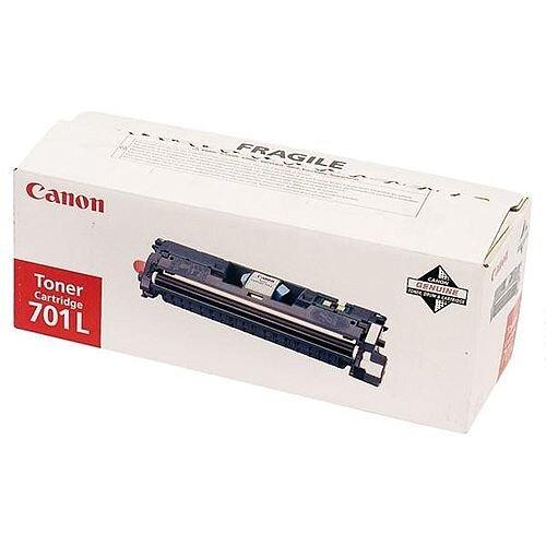 Canon 701L Cyan Standard Yield Toner Cartridge CRG701CL 9290A003